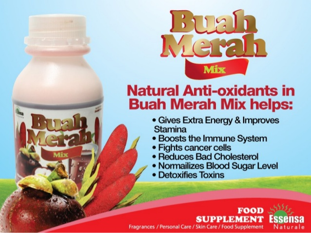 Essensa Buah Merah Mix Juice